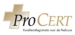 Prolanda is gecertificeerd Pro Cert Pedicure.