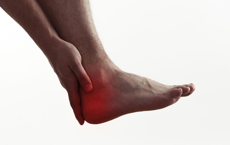 hielspoor is een van de voetproblemen waarvoor je bij Prolanda terecht kunt.